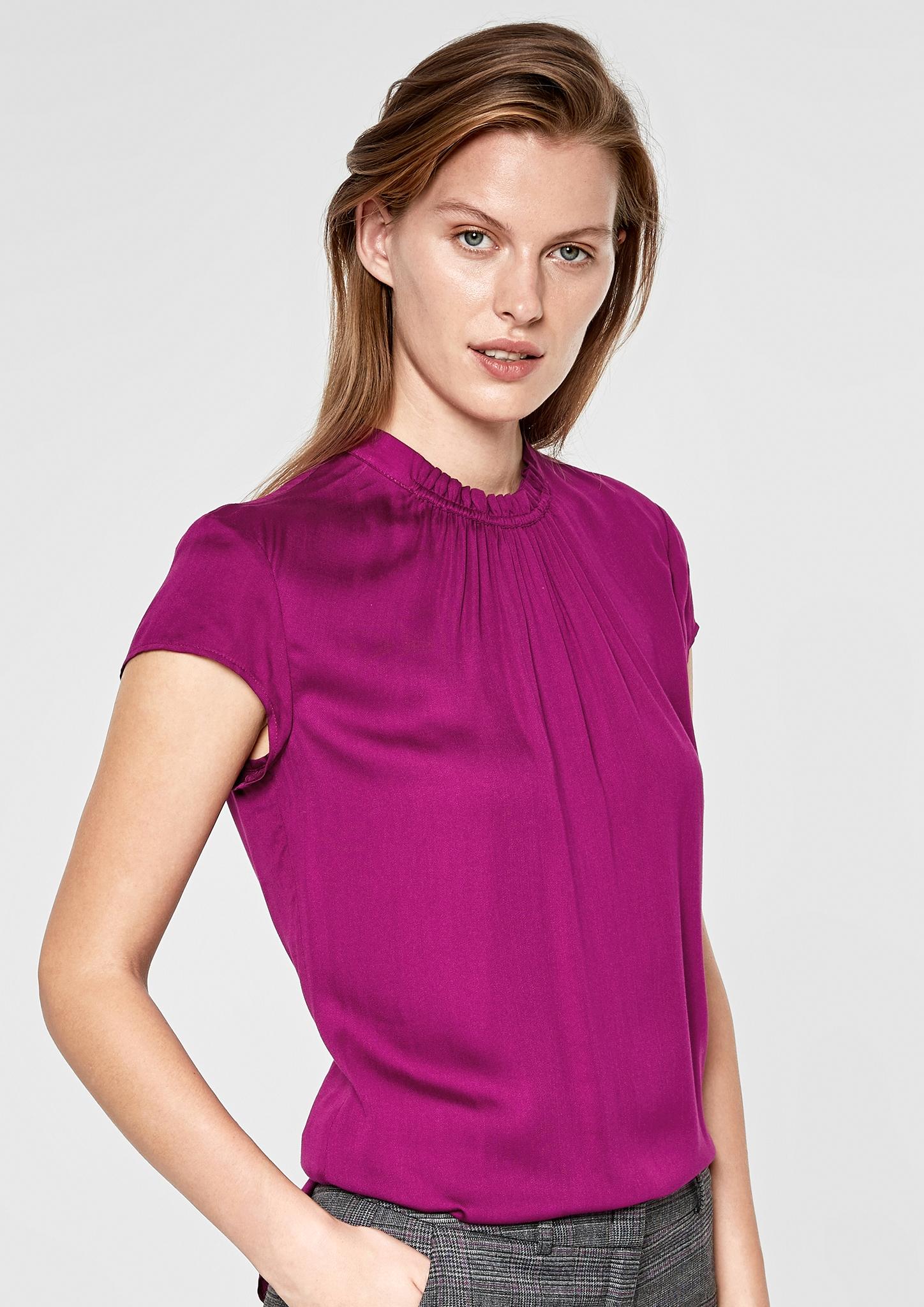 s.Oliver BLACK LABEL Premium Women Elegante Satinbluse Neu