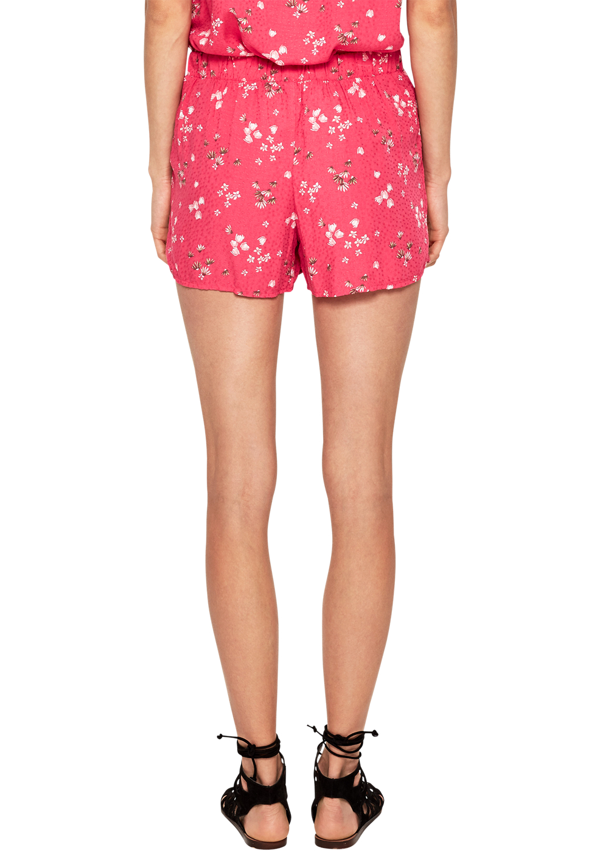 s.Oliver Damen Luftige Shorts mit Muster Neu