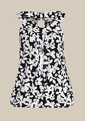 Summery top with a charming pattern from s.Oliver