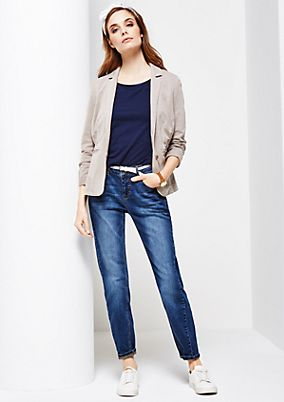 Five-pocket jeans in a vintage look from s.Oliver