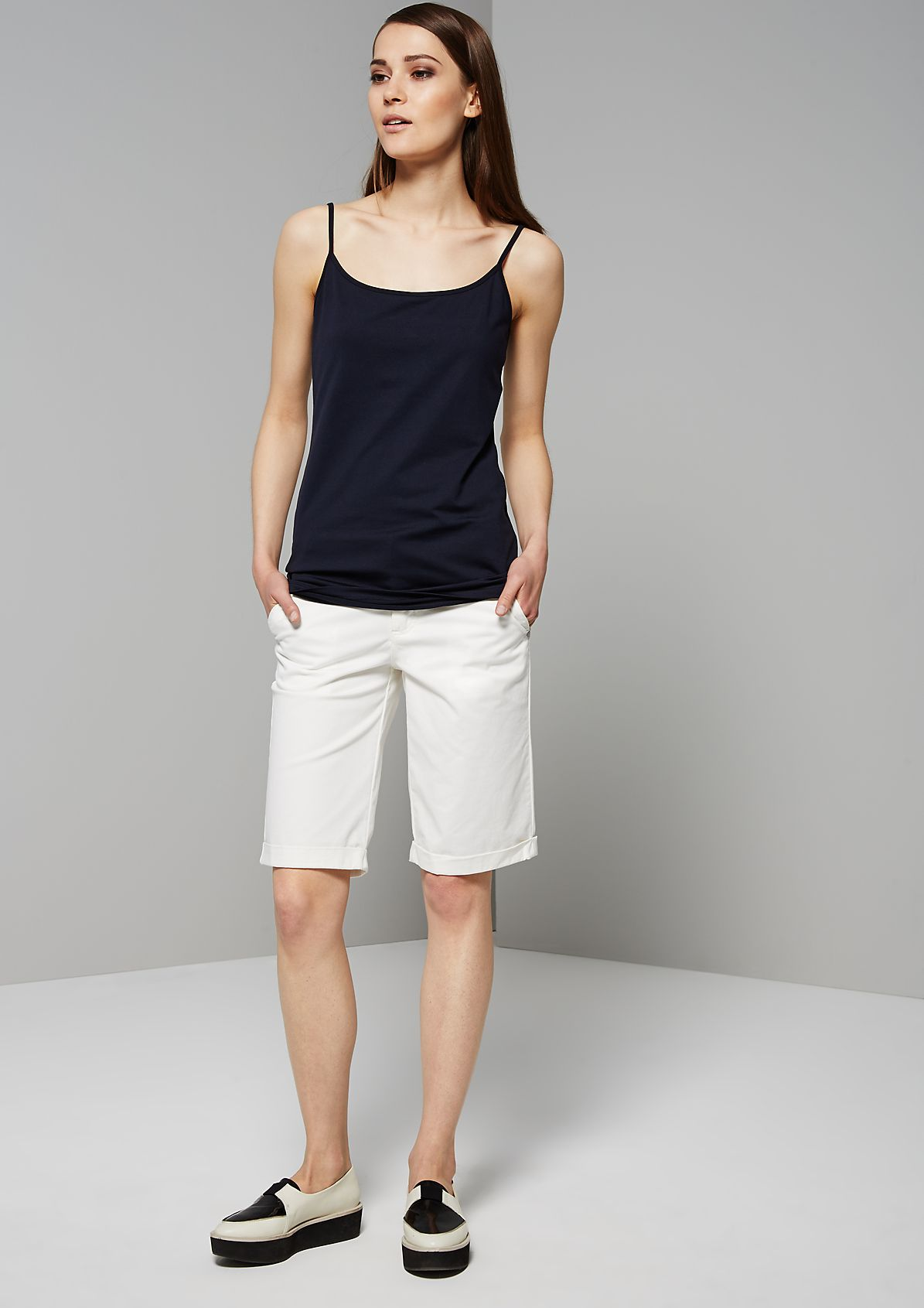 Classic top with narrow straps from s.Oliver