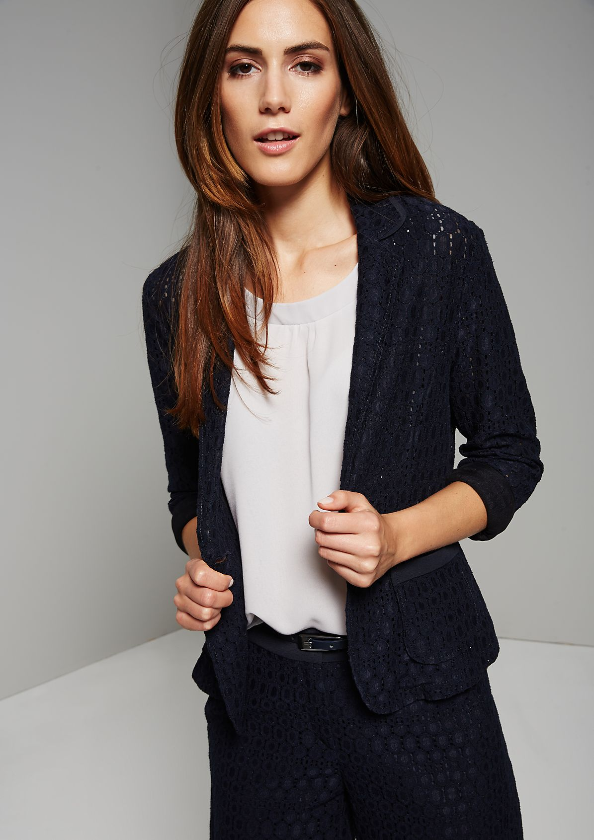 Beautiful lace summer blazer in a 60s look from s.Oliver