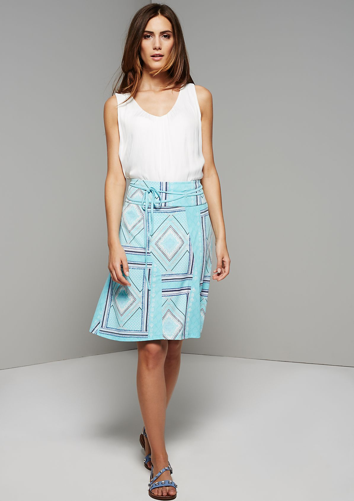 Lightweight summer skirt with a pattern from s.Oliver