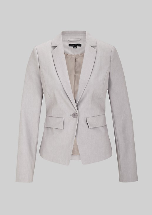 Classic blazer with beautiful design features from s.Oliver