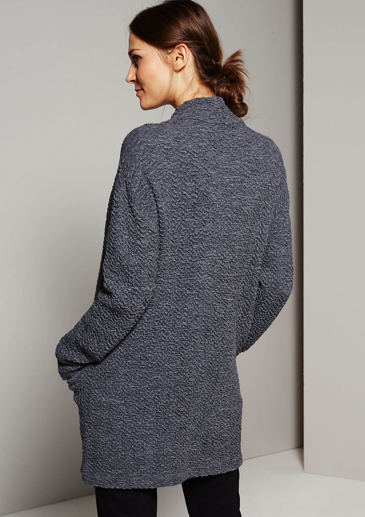 Soft cardigan with a beautiful textured surface from s.Oliver