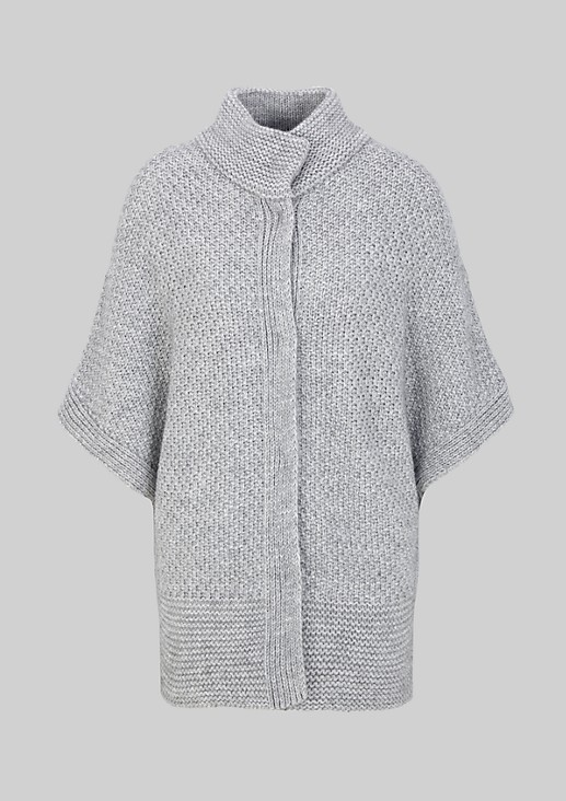 Sleeveless button-fastening cardigan from s.Oliver