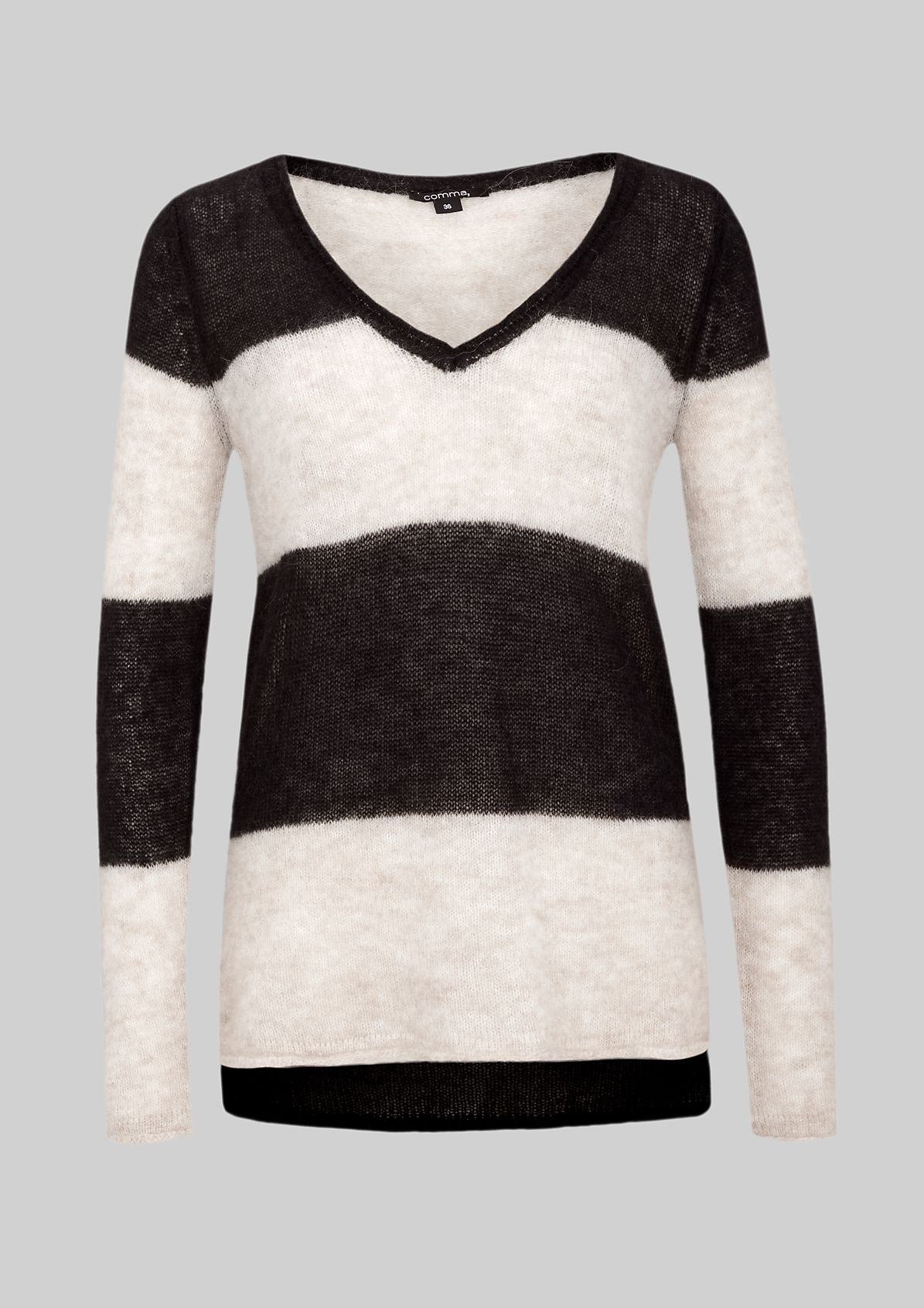 Fluffy knit jumper with beautiful details from s.Oliver