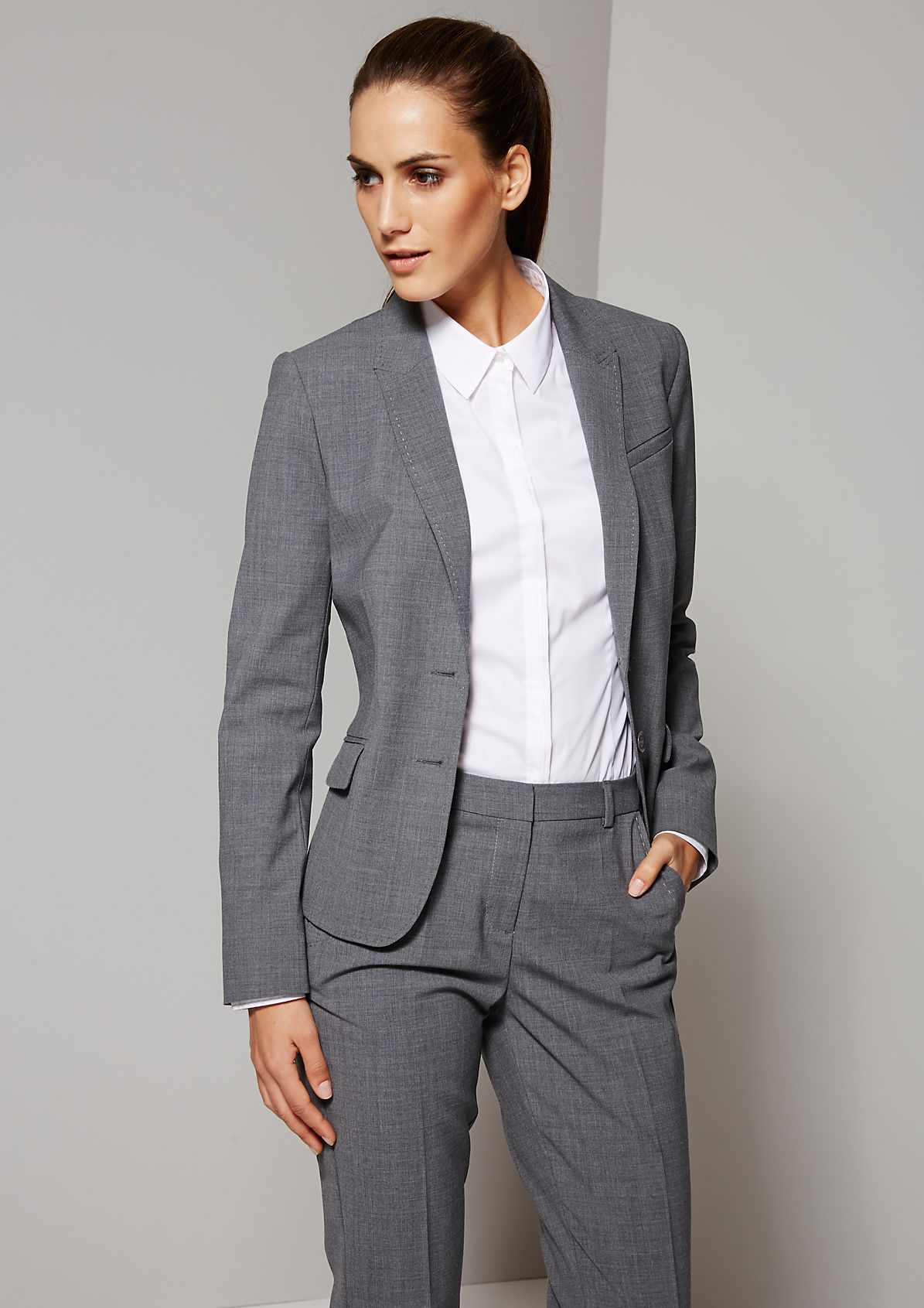 Elegant blazer with beautiful details from s.Oliver