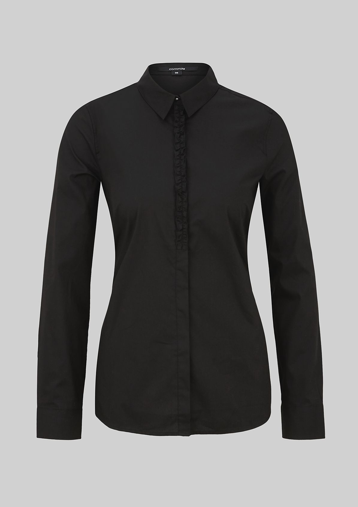 Classic business blouse with fine details from s.Oliver