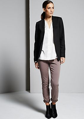 Elegant blazer with beautiful design details from s.Oliver
