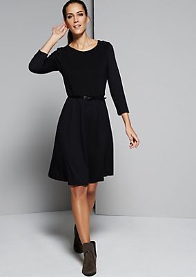 Feminine evening dress with 3/4-length sleeves from s.Oliver