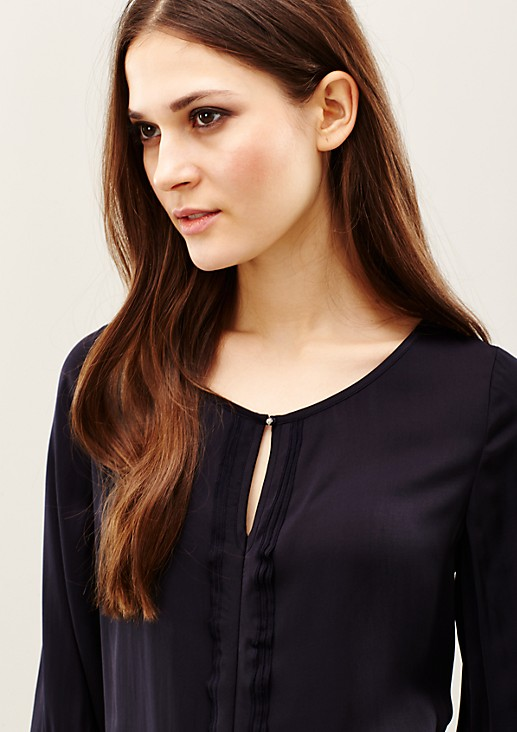 Elegant blouse with 3/4-length sleeves from s.Oliver