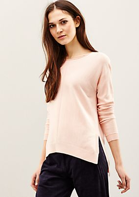 Classic knit jumper with whimsical details from s.Oliver