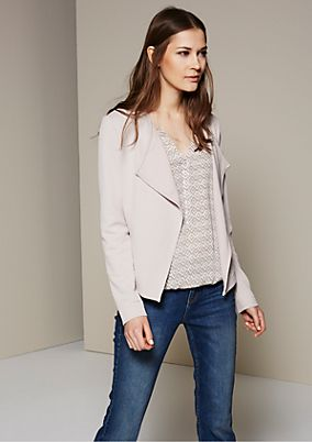 Lightweight, versatile blazer with a sophisticated textured pattern from s.Oliver