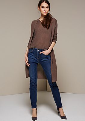 Casual, slim-fitting jeans in a vintage look from s.Oliver