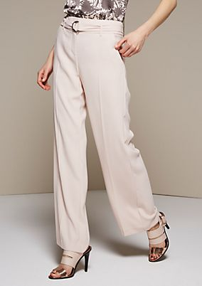 Stunning business trousers with fabulous details from s.Oliver