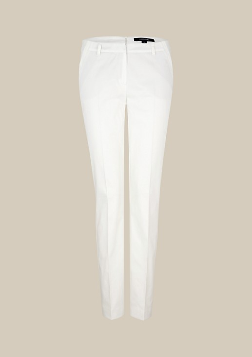 Elegant satin trousers with beautiful details from s.Oliver
