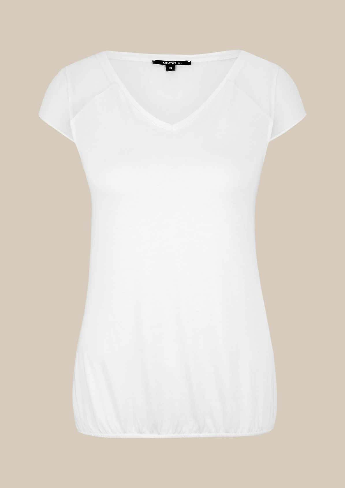 Lightweight summer top with sophisticated details from s.Oliver