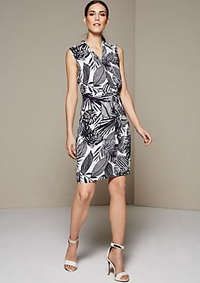 Lightweight, casual dress with a pretty all-over print from s.Oliver