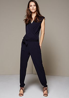 Elegant jumpsuit with sophisticated details from s.Oliver