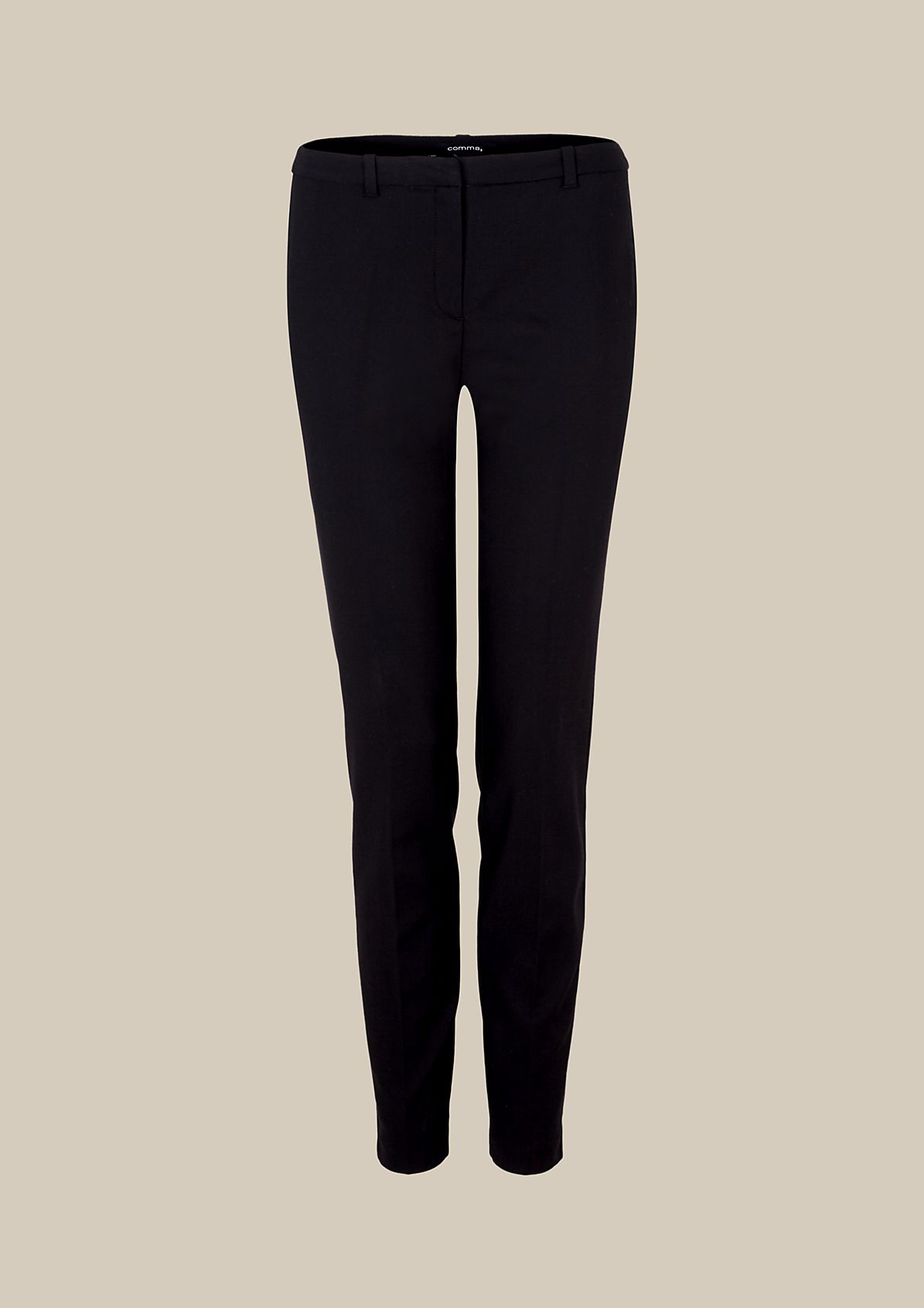 Elegant business trousers with details in a sophisticated finish from s.Oliver