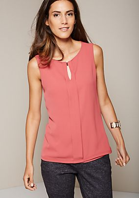 Pretty top in a mix of fabrics from s.Oliver