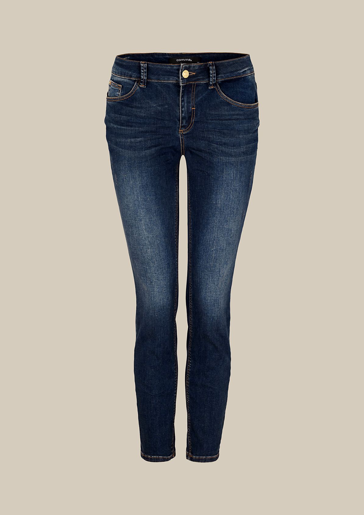 Cool jeans with a vintage finish from s.Oliver