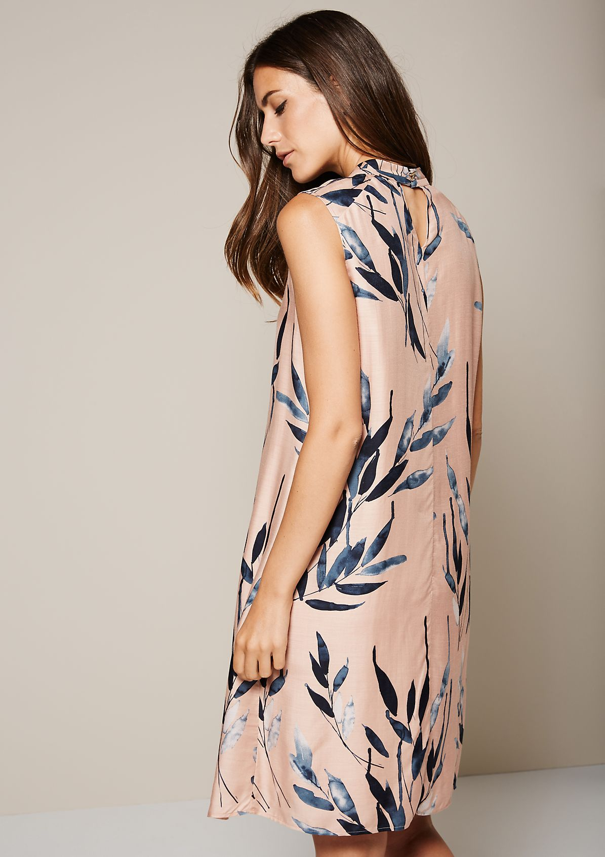 Sensational viscose dress with a decorative pattern from s.Oliver