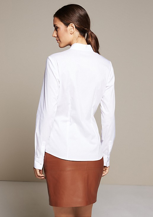 Feminine blouse with smart details from s.Oliver