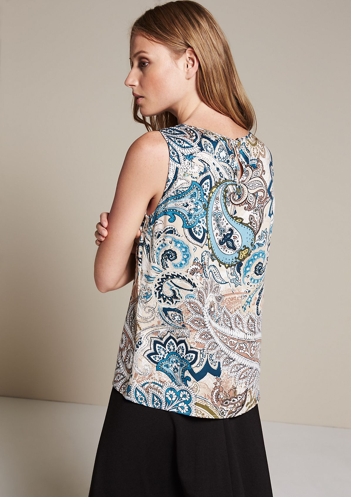 Elegant blouse top with beautiful details from s.Oliver