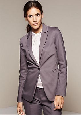 Smart blazer with beautiful details from s.Oliver