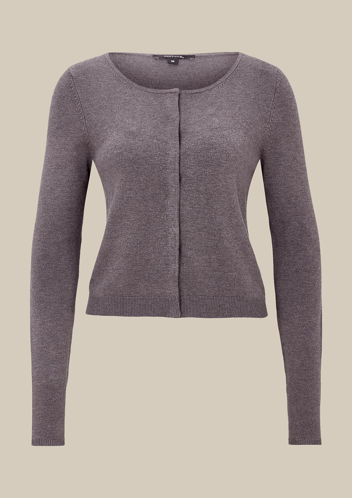 Lightweight cardigan with beautiful details from s.Oliver