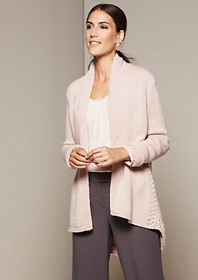 Beautiful cardigan in a mix of patterns from s.Oliver