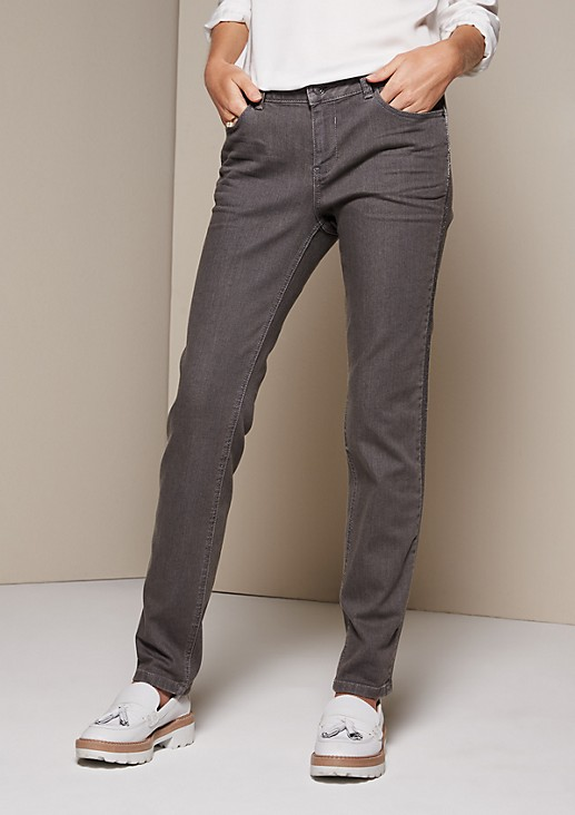 Casual jeans with exciting glamour details from s.Oliver