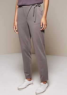 Extravagant business trousers with sophisticated details from s.Oliver