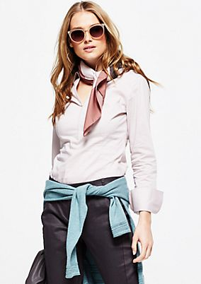 Elegant business blouse with beautiful details from s.Oliver