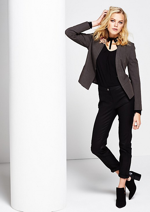 Elegant business blazer with beautiful details from s.Oliver