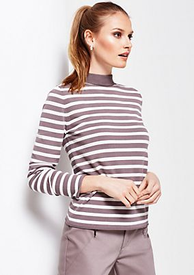 Beautiful knit jumper with a striped pattern from s.Oliver