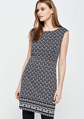 Beautiful casual top with a decorative all-over pattern from s.Oliver