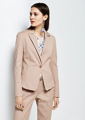 Elegant blazer with fine details from s.Oliver
