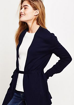 Classic cardigan in a mix of patterns from s.Oliver