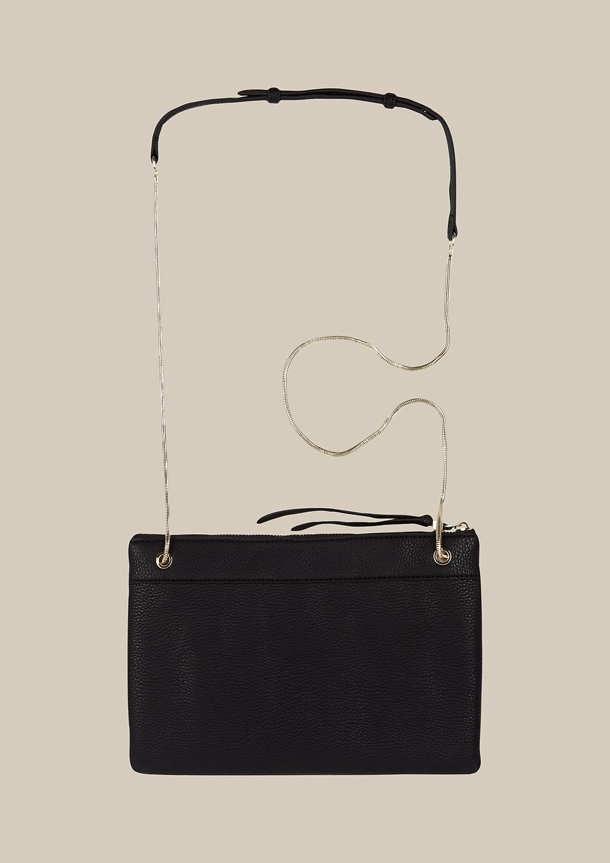Extravagant evening bag in imitation leather from s.Oliver