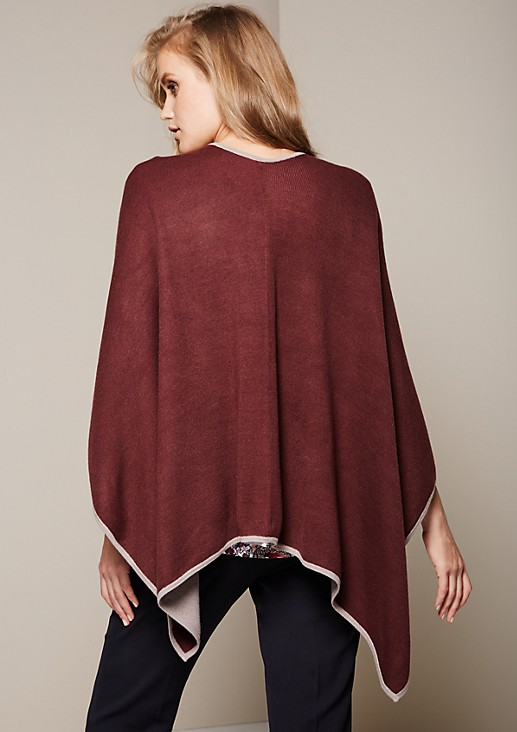 Fabulous poncho with attractive details from s.Oliver