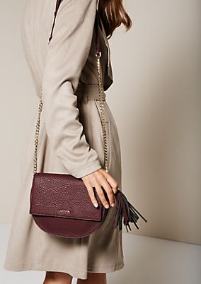 Elegant evening bag in imitation leather from s.Oliver
