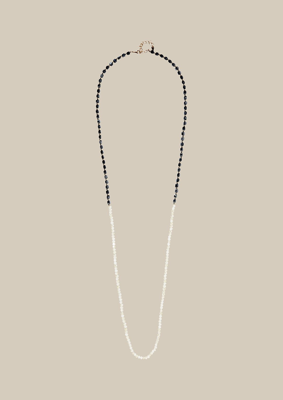 Long necklace with glittering stones from s.Oliver