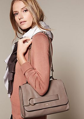 Classic shoulder bag in elegant faux leather from s.Oliver