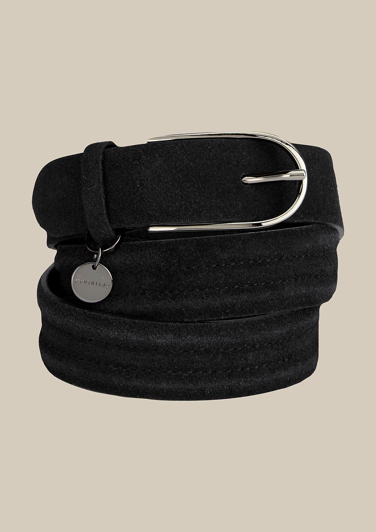 Elegant suede belt from s.Oliver