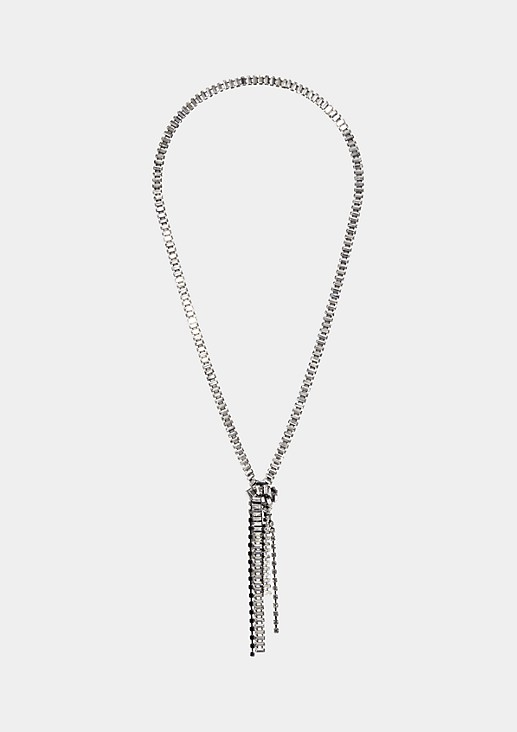 Extravagant necklace with decorative knotting from s.Oliver