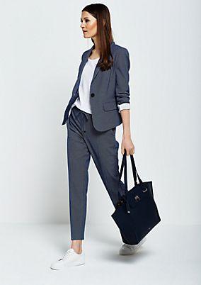 Voluminous shopper bag with detachable inner bag from s.Oliver