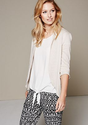 Beautiful summer cardigan with fine details from s.Oliver